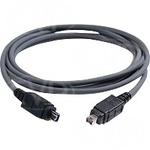 Roline Firewire Cable 4-pin male - 4-pin male 3m (11.02.9330)