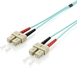 Equip Optical Fiber SC-SC Cable 1m Τιρκουάζ (255321)