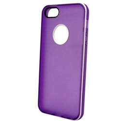 NortonLine Inos TPU Clear Flat Purple White (iPhone 5/5s/SE)