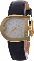 Aigner Genua Mop Gold Black Leather A31203