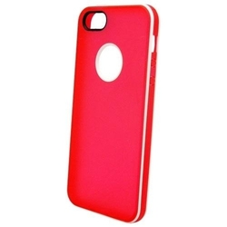 NortonLine Inos TPU Clear Flat Red White (iPhone 5/5s/SE)