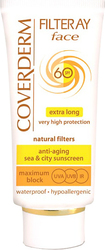 Coverderm Filteray Face Cream SPF60 50ml