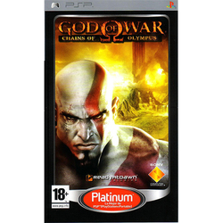 God Of War Chains Of Olympus Platinum PSP