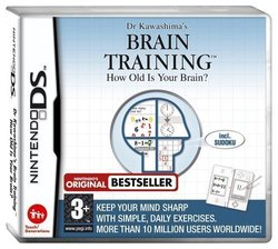 Dr Kawashima's Brain Training How Old Is Your Brain! DS