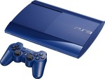 Sony Playstation 3 (PS3) Super Slim 500GB Azurite Blue