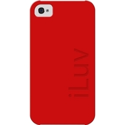 iLuv Mineral Silicone Red (iPhone 4/4S)