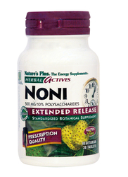 Nature's Plus Noni 500mg 30 ταμπλέτες