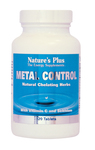 Nature's Plus Metal Control 120 ταμπλέτες