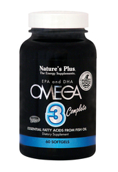 Nature's Plus Omega 3 Complete 60 μαλακές κάψουλες