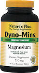 Nature's Plus Dyno-Mins Magnesium 250mg 90 ταμπλέτες