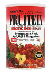 Nature's Plus Fruitein Exotic Red Fruit Shake 1.3lb 576g
