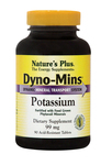 Nature's Plus Dyno-Mins Potassium 99mg 90 ταμπλέτες