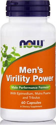 Now Foods Men's Virility Power 60 κάψουλες