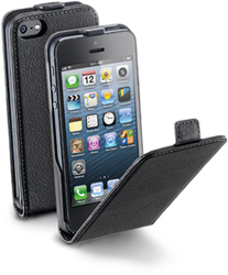 Cellular Line Flap Essential Black (iPhone 5/5s/SE)