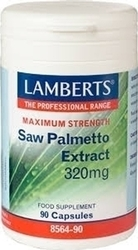 Lamberts Saw Palmetto Extract 320mg 90 κάψουλες