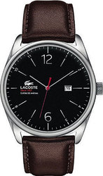 Lacoste Mens Austin Brown Leather Strap Watch 2010682