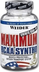 Weider Maximum BCAA Syntho 120 κάψουλες
