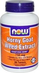 Now Foods Horny Goat Weed Extract 750mg 90 ταμπλέτες