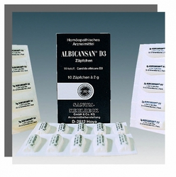 Sanum Kehlbeck Albicansan D3 Suppositories 10τμχ