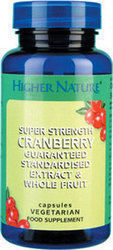 Higher Nature Cranberry Super Strength 90 μαλακές κάψουλες