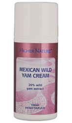 Higher Nature Mexican Wild Yam Cream High Strength 100ml