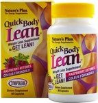 Nature's Plus Quick Body Lean Raspberry Ketones 90 κάψουλες
