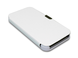 Sandberg Leather Cover White (iPhone 5/5s/SE)