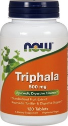 Now Foods Triphala 500mg 120 ταμπλέτες