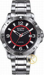 Buler Sea Hunter Black Dial Bracelet 046122