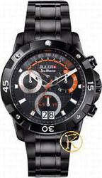 Buler Sea Hunter Chrono Ipb Case Black Dial Bracelet 048141