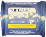 Natracare Intimate Wipes 12τμχ