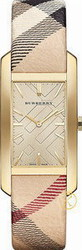 Burberry Pioneer Ladies Gold Dial Stainless Steel BU9407