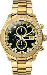 Breeze ρολόι Iconic Chrono Gold Stainless Steel Bracelet 210081.6
