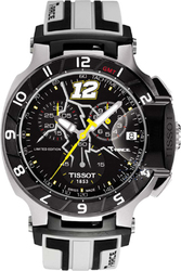Tissot T-race Limited Edition Thomas Luthi Chrono White Rubber T0484172705710