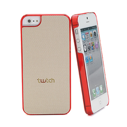 Twitch Back Cover Beige Red (iPhone 5/5s/SE)