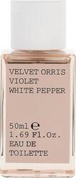 Korres Velvet Orris Violet White Pepper Eau de Toilette 50ml