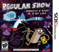Regular Show: Mordecai and Rigby in 8-Bit Land 3DS