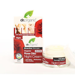 Dr.Organic Rose Otto Night Cream 50ml