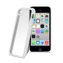 Puro Clear Cover White (iPhone 5c)
