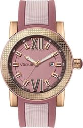 Vogue Fancy Pink Rubber Strap 17301.2