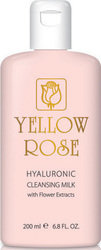 Yellow Rose Hyaluronic Cleansing Milk with Flower Extracts 200ml