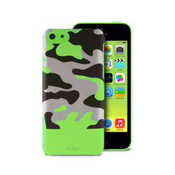 Puro Camou Soft Cover Green (iPhone 5C)