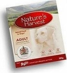 NATURE'S HARVEST ADULT LAMB AND RICE 10X395GR