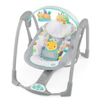 Bright Starts TaGgies Fold 'n Go Portable Swing - Leafscape