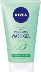 Nivea Aqua Effect Purifying Wash Gel 150ml