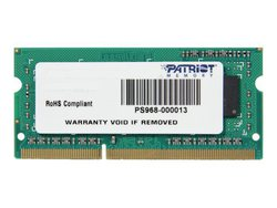 Patriot Signature 4GB DDR3-1600MHz (PSD34G160081S)