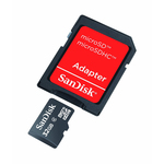 Sandisk microSDHC 32GB Class 4 with Adapter