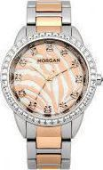 Morgan De Toi Rose Gold Crystals Stainless Steel M1183RGM