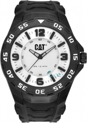Caterpillar Motion Black Rubber Strap LB11121231