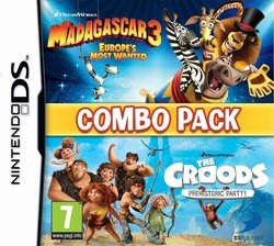 Madagascar 3 & The Croods: Prehistoric Party DS